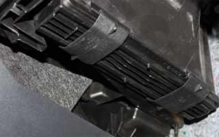 Как заменить фильтр салона Фольксваген Поло седан