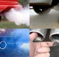 Что такое двигатель при нагрузке дымит черным дымом