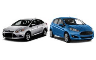 Что лучше Форд фиеста или Фокус