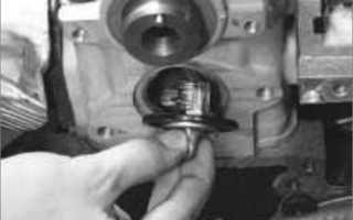 Шевроле ланос замена термостата