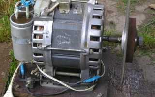 Что можно сделать из двигателя для стиральной машины