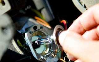 Замена лампочки ближнего света Форд Фокус 2 дорестайл