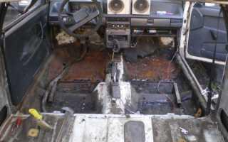 Ваз 2109 ремонт кузова