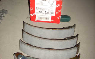 Самостоятельная замена задних колодок на Skoda Oktavia