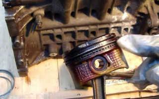 Что делать если кольца залегли не разбирая двигатель