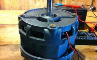 Генератор из двигателя от жесткого диска схема подключения