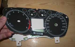Ремонт щитка приборов Форд Фокус 2