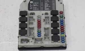 Nissan X Trail t31 блок предохранителей