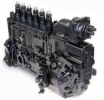 Характеристика одно из топливного насоса дизельного двигателя