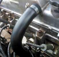Что такое если двигатель гонит масло через горловину