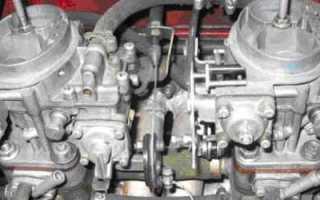 Характеристики двигателя ваз 2106 на двух карбюраторах