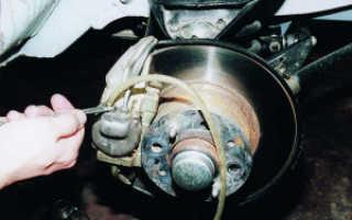 Прокачка тормозов ваз 2110