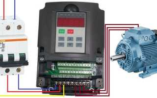 Электрическая схема двигателя на 220 вольт с реверсом