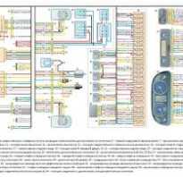 Газ 2705 схема электрическая двигателя 405 двигатель