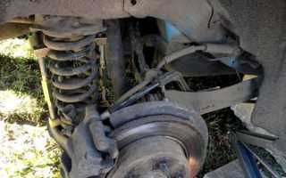 Замена задних пружин Форд Фокус 2 своими руками