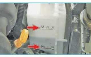 Что залито для охлаждения двигателя в ниву шевроле