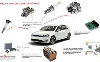 Что делать если не запускается двигатель у машины