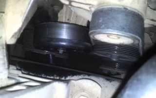 Форд Фокус 2 замена ремня кондиционера