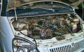 Газ 3307 двигатель троит не развивает обороты