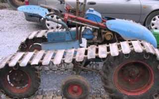 Гусеничный вездеход своими руками с двигателем лифан