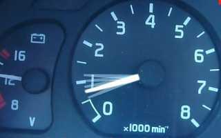 Холостые обороты дизельного двигателя на холостом ходу