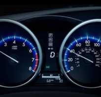 Ваз 2107 какая скорость при каких оборотах двигателя