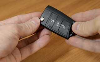 Замена батарейки в чип-ключе skoda octavia a7