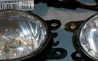 Установка противотуманных фар на рено логан