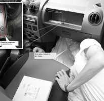 Замена салонного фильтра Рено Логан