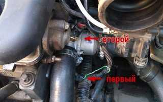 Влияет ли датчик температур двигателя на обороты двигателя