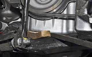 Замена ремня грм Nissan Almera g15