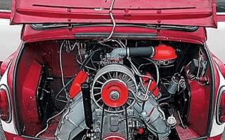 Устройство и работа воздушной системы охлаждения двигателя