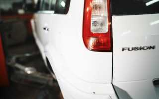 Замена помпы форд фьюжн