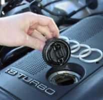 Что нужно для замены масла в двигателе ауди