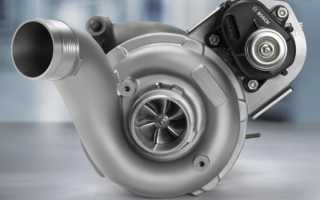 Устройство и принцип работы двигателя с турбонаддувом