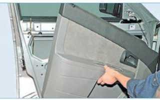 Как снять обшивку задней двери на приоре