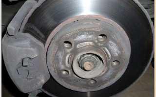 Замена задних тормозных колодок лада ларгус