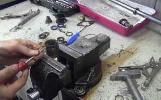 Ремонт рулевой рейки Рено Логан с гур своими руками видео