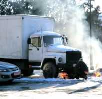 Устройство для запуска дизельного двигателя в мороз