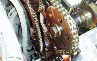 Форд Фокус 2 замена цепи грм