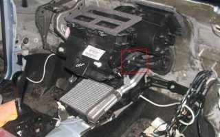 Форд Фокус 2 рестайлинг как снять моторчик печки на