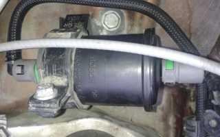 Замена топливного фильтра наRenault Duster сдвигателем 2