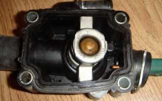 Замена термостата ситроен с4