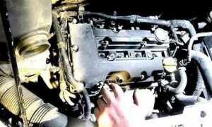 Замена прокладки клапанной крышки Опель Астра н z18xer