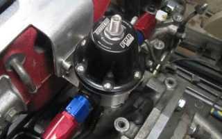 Что такое давления в топливной системе бензинового двигателя