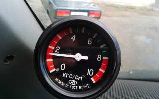 Двигатель 406 давление есть а лампочка давления масла
