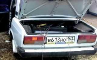 Как открыть багажник без ключа ваз 2107