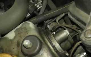 Что может течь на стыке двигателя и коробки