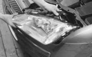 Замена лампы подсветки номерного знака Форд Фокус 2 хэтчбек