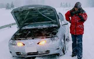 В морозы двигатель работает как то не так